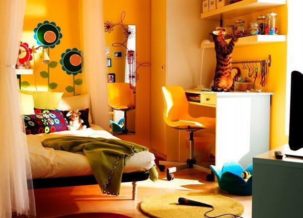 Икеа дизайны спальни девочки 134